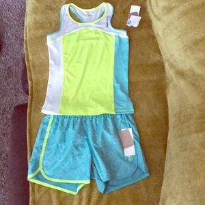 Girls Reebok workout set new with tags!